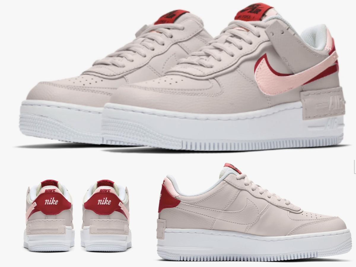 2019NIKE Air Force | NIKE給女孩的Air Force 1 Shadow