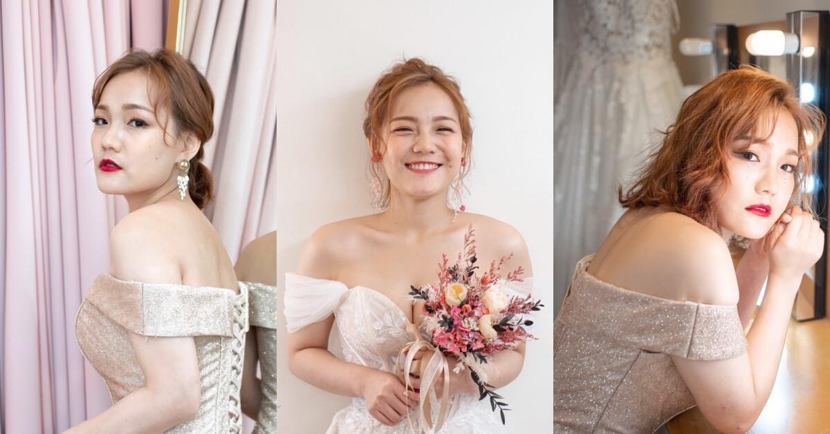 新娘秘書推薦|點點造型團隊 Point Makeup Studio|新秘試妝分享。遇見各種美麗的自己