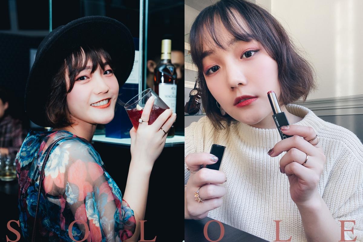 開架美妝Solone新品妝容分享/緞光唇膏/絲絨霧面唇釉/單色眼影