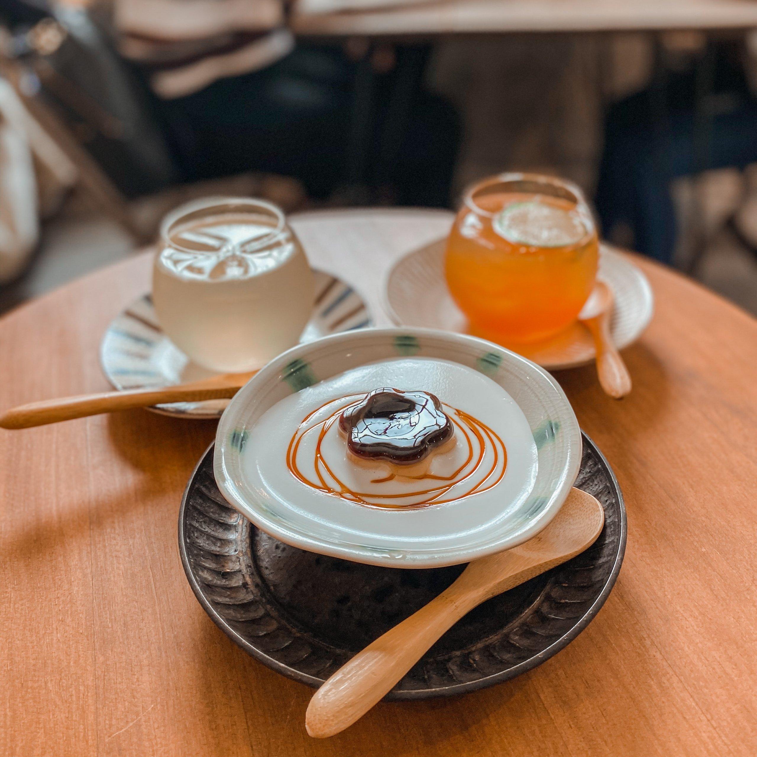 台北不限時咖啡廳|中山區咖啡店卜卜商行|平價飲品。甜點。選物店 茶布丁