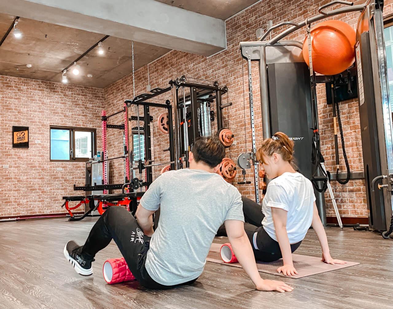 蘆洲健身房推薦 |Just Fit運動空間|私人教練費用。上課心得