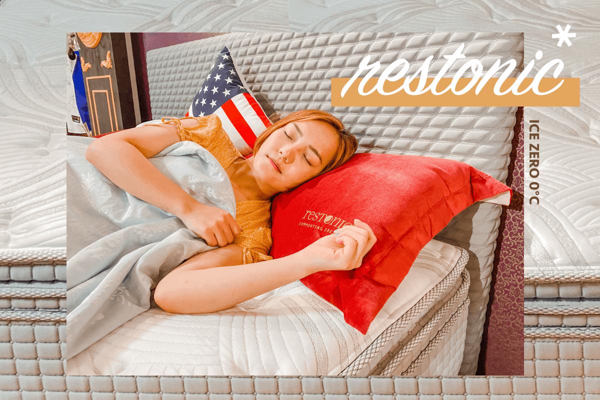 美國蕾絲床墊|夏日涼感床墊冰晶系列。ICE ZERO 0°C瞬涼布!有效降低體感溫度