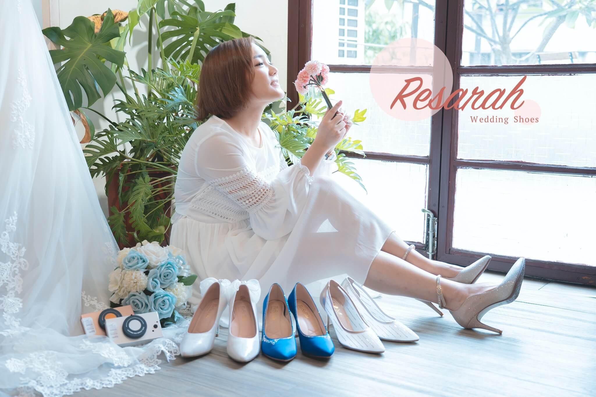ReSarah 時尚手作婚紗鞋 | 訂製一雙幸夢幻婚鞋走向美好未來