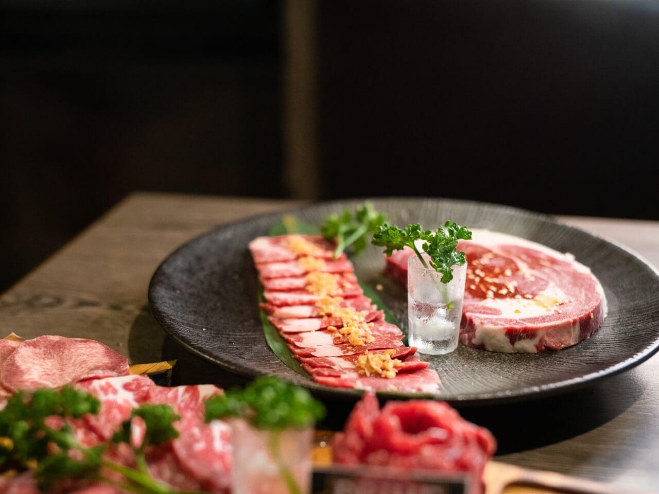 中壢美食燒肉推薦|青石代 Zendon Yaki 燒肉專門 |冠軍和牛拼盤