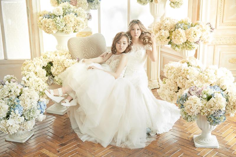台北婚攝與閨蜜寫真 | 婚姻平權|JW wedding婚紗攝影工作室X艾莉緹恩手工婚紗 Elitiana