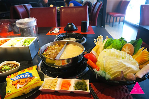 [ GS愛吃鬼 ]永和美食X太妃殿個人鴛鴦火鍋X麻辣鍋 X 現切肉品、新鮮生猛海鮮