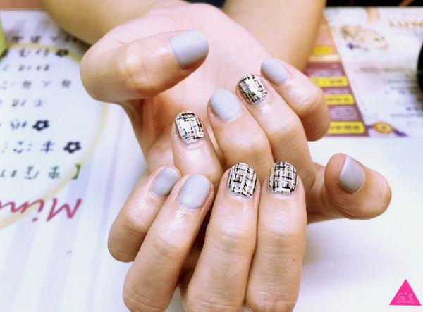 [GS愛漂亮]三重菜寮站X Mini nail shop X價格超親民X秋冬到了幫指甲換新衣吧!!