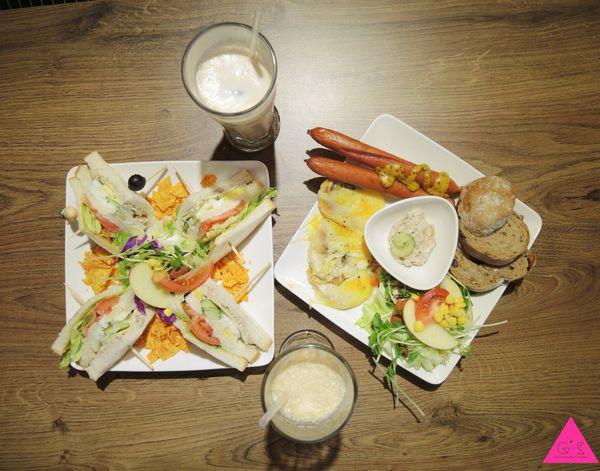 [GS愛吃鬼]新北板橋X早午餐X花姐廚房X好吃健康CP值高