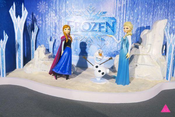 [GS小文青]中正紀念堂X迪士尼「冰雪奇緣 冰紛特展」X文末抽獎送你門票跟雪寶喔!!!