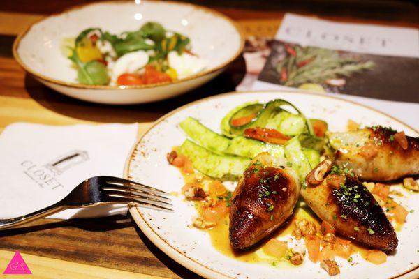 GS愛吃鬼|台北忠孝敦化餐酒館|Closet Restaurant & Bar|視覺與味蕾上的饗宴 (文末抽獎)