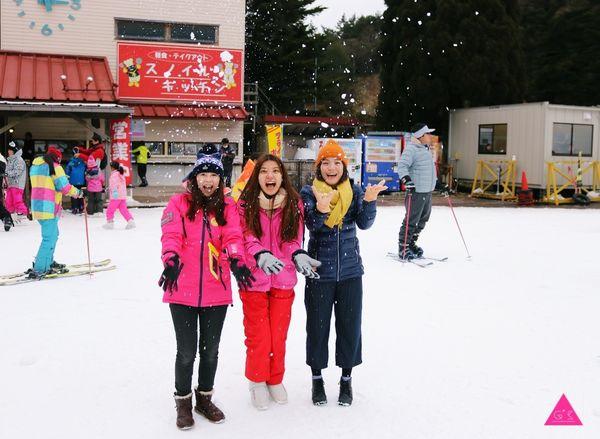 GS愛日本| 日本滑雪自助推薦| 神戶六甲山滑雪樂園 |滑雪。雪盆。堆雪人。打雪仗一次滿足