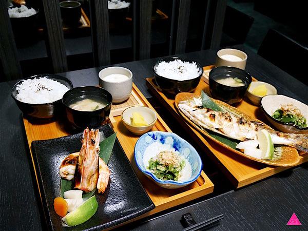 GS愛吃鬼|柊浅川火鍋專門店|季節限定午餐定食新上市|季節烤魚。鹽烤明蝦定食